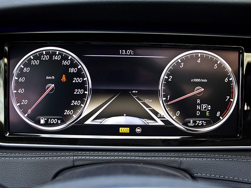 Mercedes-Benz S-Klasse 2013 приборная панель