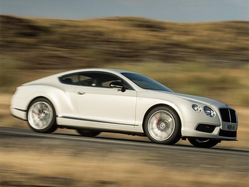 Новый Bentley GT V8 S доступен для заказа в России