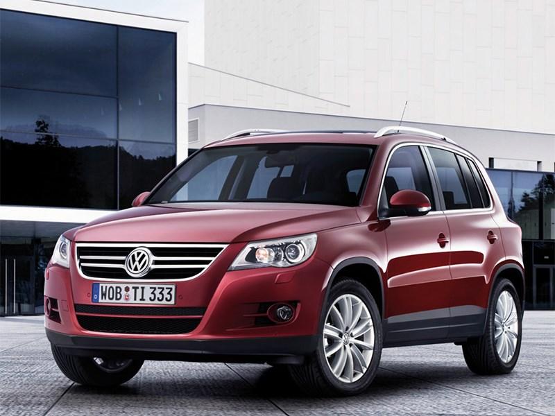 Volkswagen отзывает «Тигуаны»