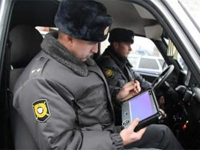 Московским «гаишникам» выдали планшетные компьютеры