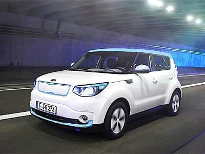 Электрокар Kia Soul EV дебютировал в Женеве