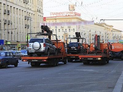 Штрафстоянок на территории Москвы станет больше