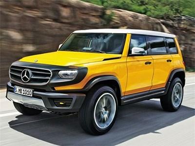 Модельный ряд Mercedes-Benz пополнится полноценным внедорожником GLB