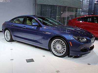 Alpina привезла на автосалон в Нью-Йорк новую модификацию BMW 6-series