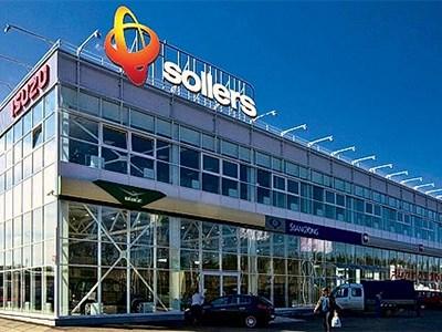 Продажи автомобилей группы компаний Sollers просели более, чем на двадцать процентов