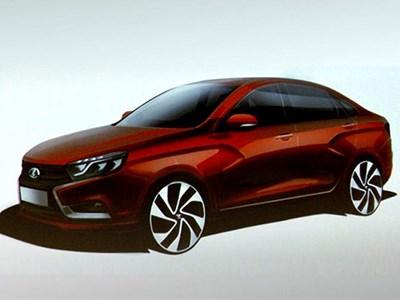 Появились новые подробности о новой модели «АвтоВАЗа» - седане Lada Vesta
