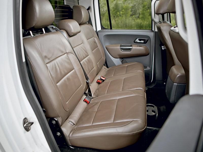 Volkswagen Amarok 2014 задний диван