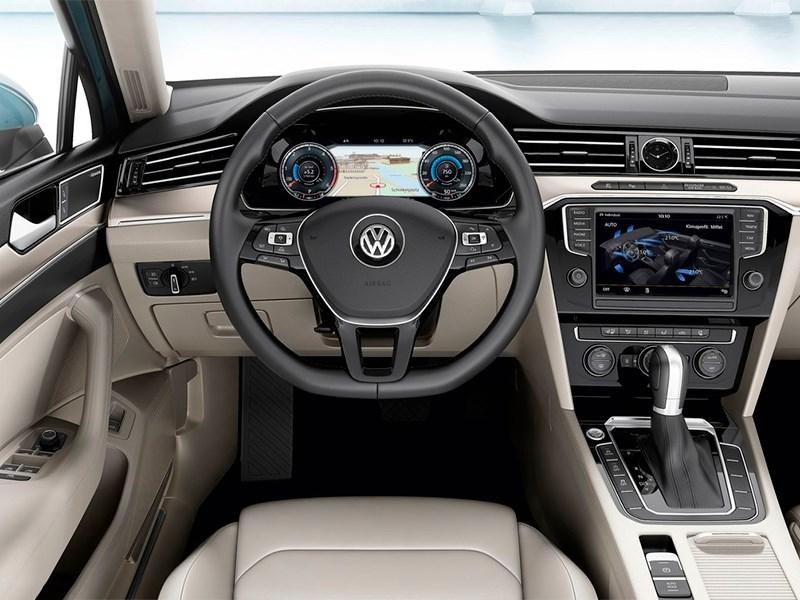 Volkswagen Passat 2015 приборы