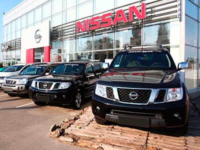 В августе продажи автомобилей Nissan сократились на 5%