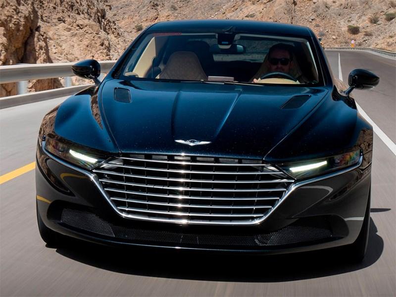 Aston Martin Lagonda 2015 вид спереди