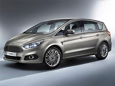 Ford рассекретил свой новый минивэн S-Max