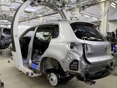 Калужский автомобильный завод Volkswagen снова останавливает производство автомобилей