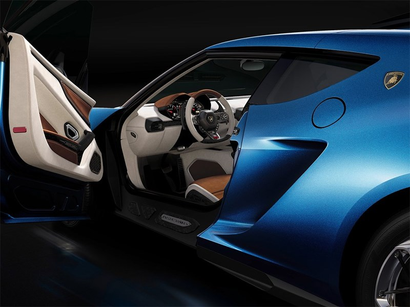 Lamborghini Asterion LPI 910-4 concept 2014 с открытой дверцей