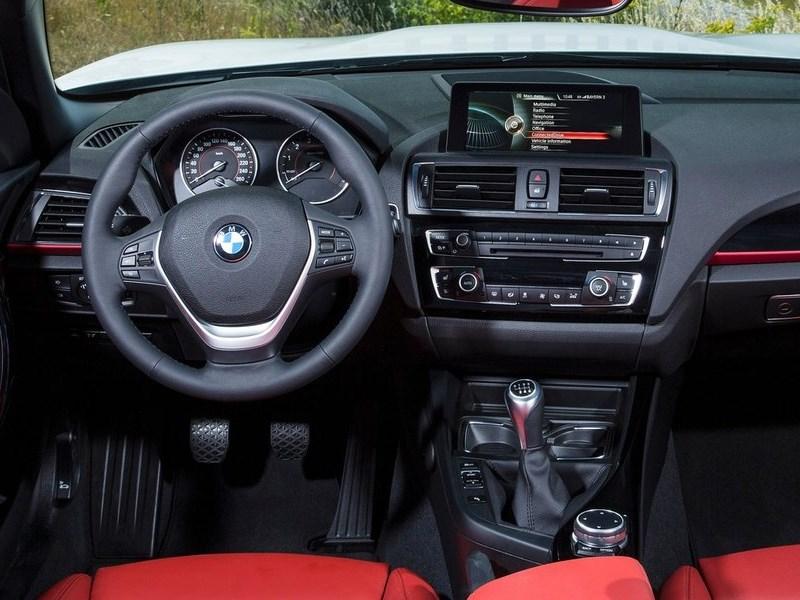 BMW 2 Series Convertible 2014 водительское место