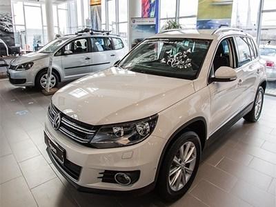 Volkswagen Tiguan на российском рынке подешевел
