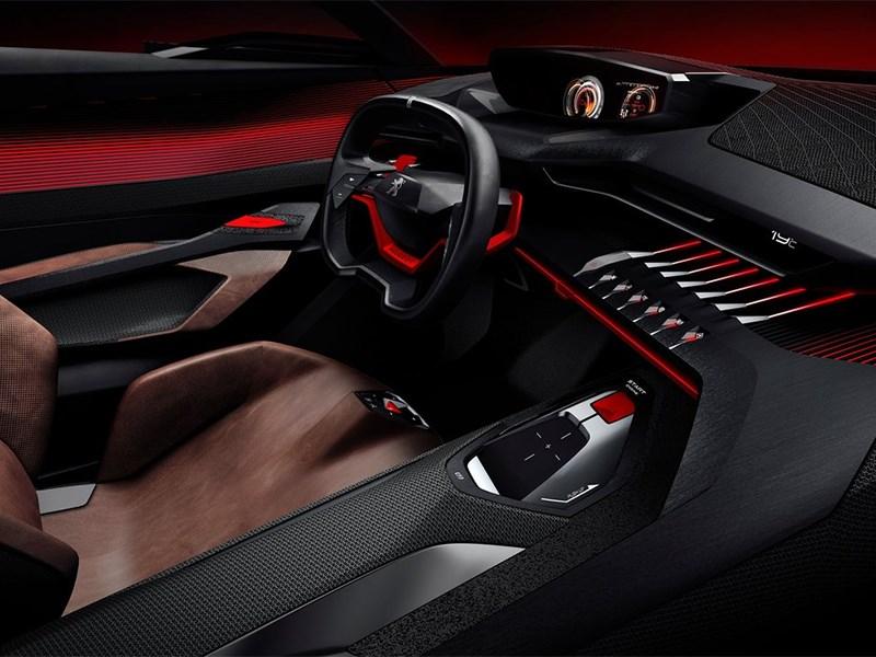 Peugeot Quartz Concept 2014 водительское место