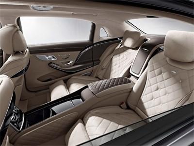 Опубликованы первые тизеры нового Mercedes-Maybach S600