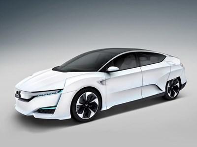 Honda представила свой новый концепт-кар на водородном двигателе