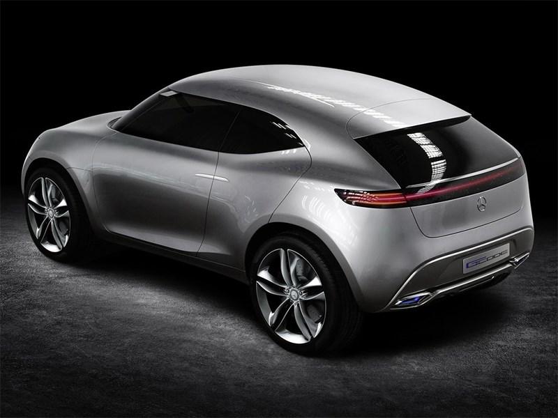 Mercedes-Benz G-Code concept 2014 вид сбоку сверху
