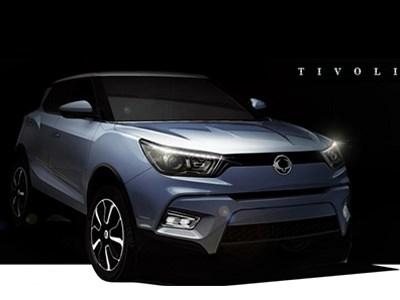 Кроссовер SsangYong Х100 будет продаваться под именем Tivoli