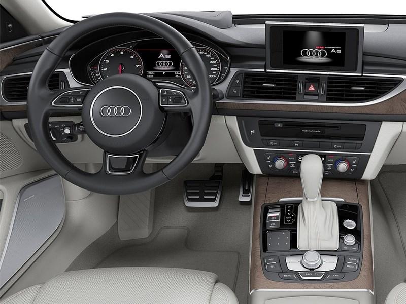 Audi A6 2015 водительское место