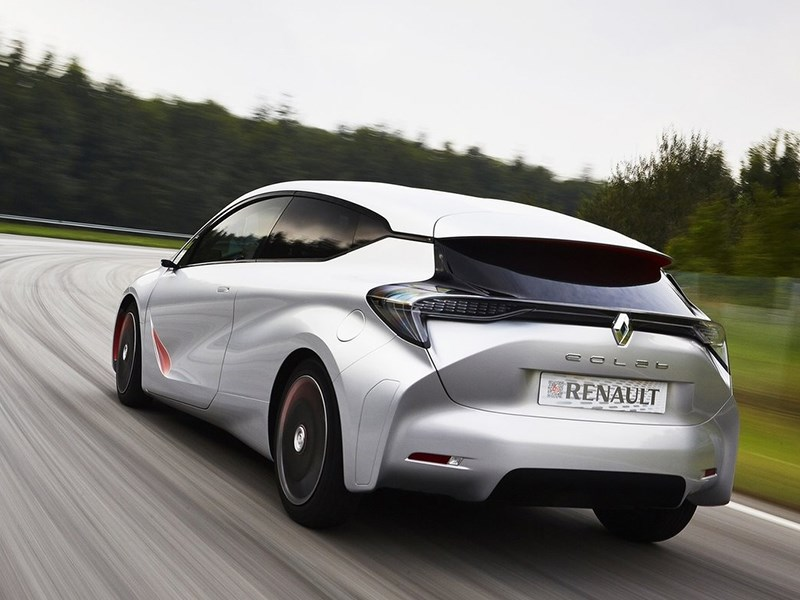 Renault Eolab Concept 2014 вид сзади
