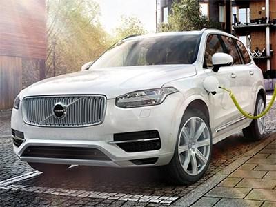 Volvo представил свой новый роскошный и экологичный гибридный кроссовер