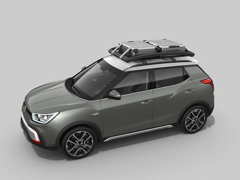 SsangYong XIV-Adventure Concept 2014 вид сверху