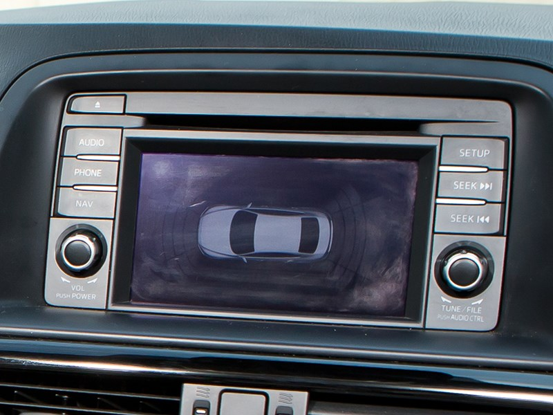 Mazda CX-5 2013 монитор