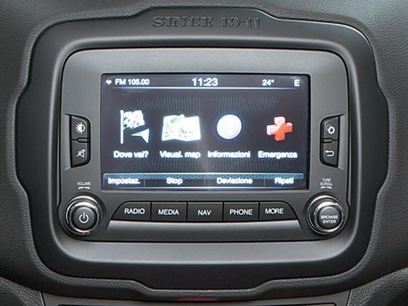 Jeep Renegade 2014 монитор