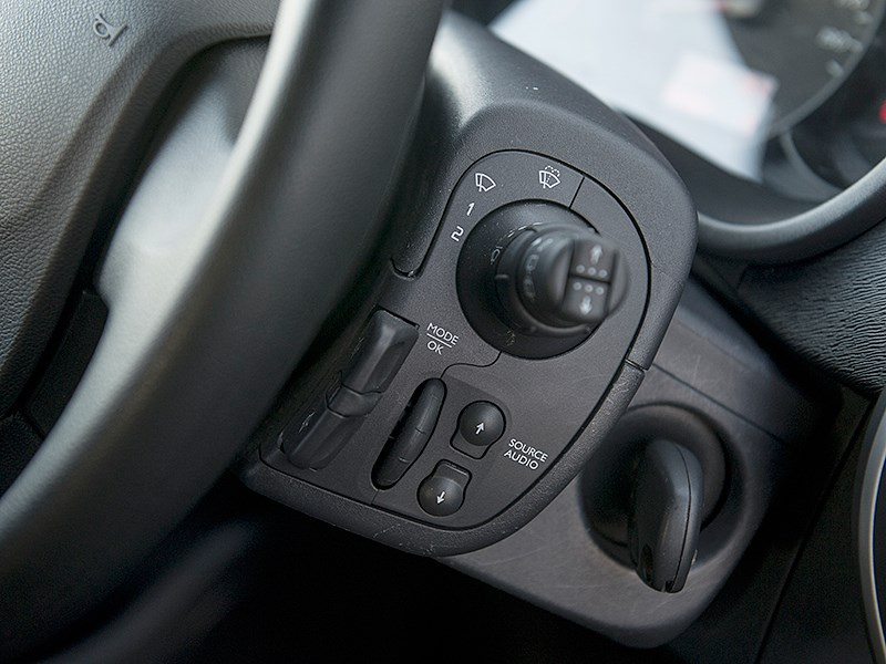 Renault Kangoo 2014 подрулевые переключатели