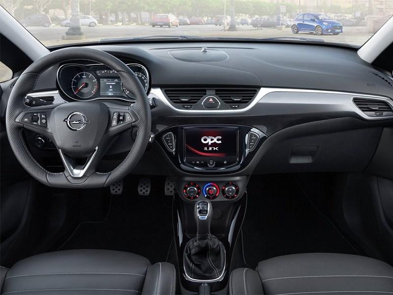 Opel Corsa OPC 2015 водительское место