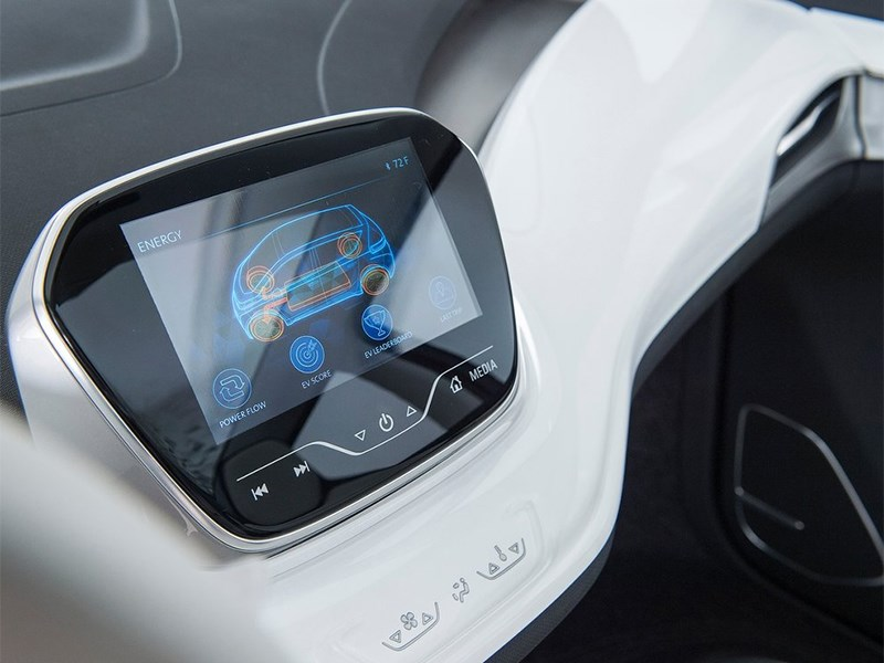 Chevrolet Bolt EV Concept 2015 монитор компьютера