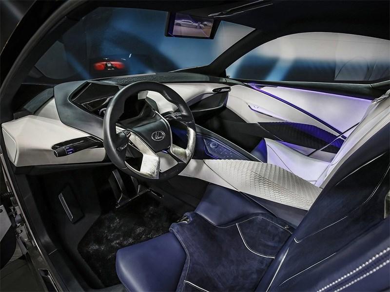 Lexus LF-SA Concept 2015 водительское место