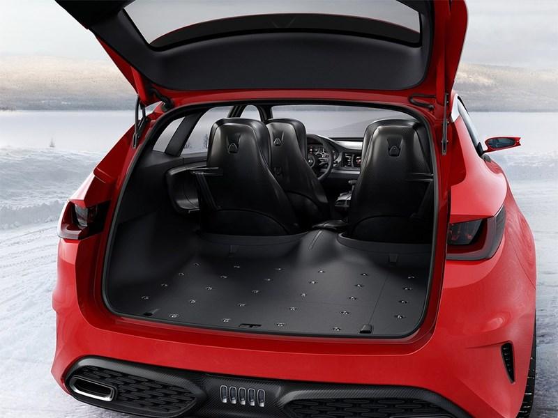 Kia Sportspace Concept 2015 багажное отделение