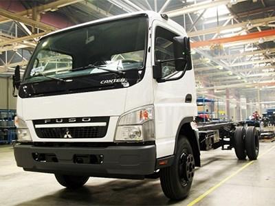 Сборка грузовиков Mitsubishi Fuso Canter в России приостановлена