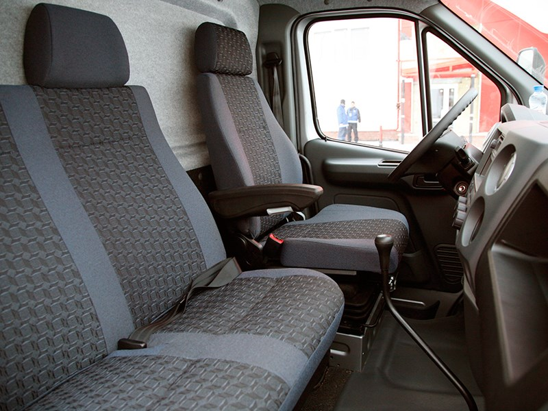 ГАЗон NEXT 2015 кабина
