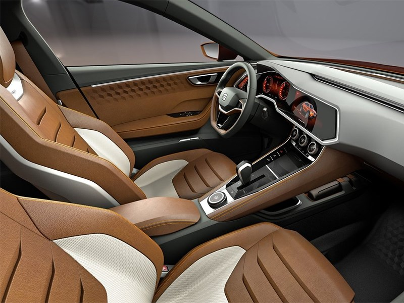 Seat 20V20 Concept 2015 передние кресла