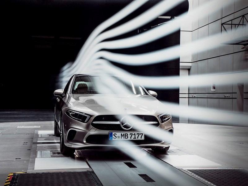 Mercedes Benz раскрыл первые подробности о седане А класса Фото Авто Коломна