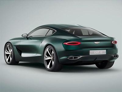 Bentley Continental GT нового поколения появится в 2017 году