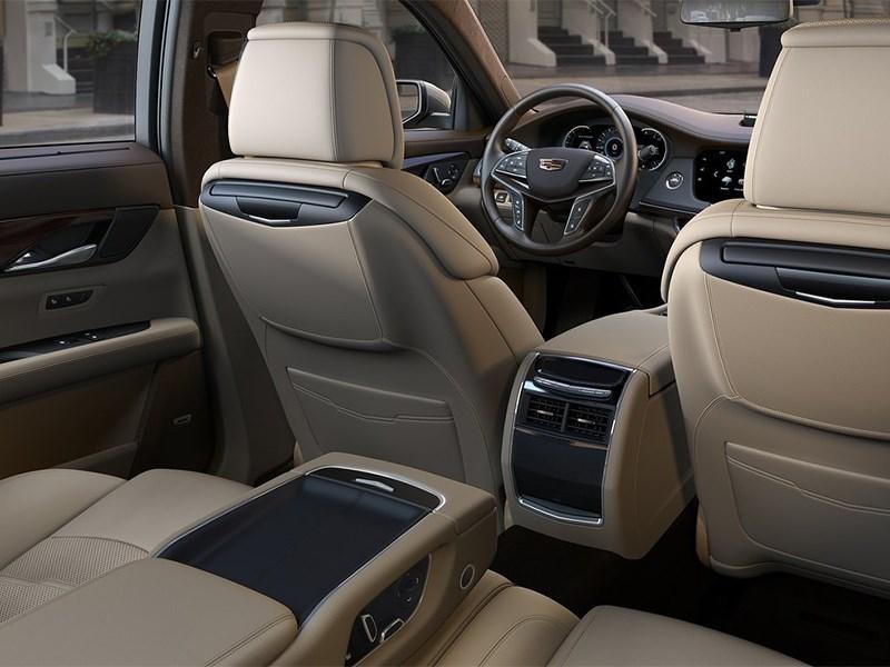 Cadillac CT6 2016 задний диван