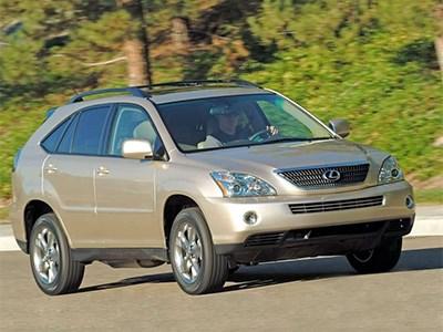 Модели Lexus RX 400h исполнилось десять лет