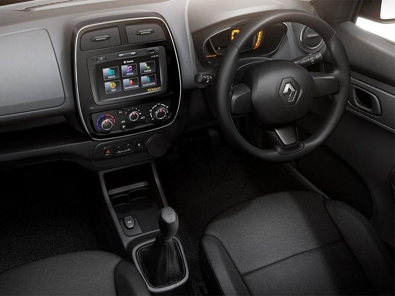 Renault Kwid 2016 водительское место