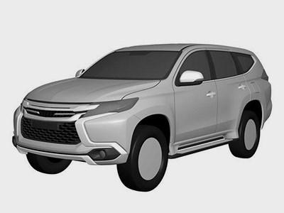 Появился первый официальный тизер кроссовера Mitsubishi Pajero Sport нового поколения