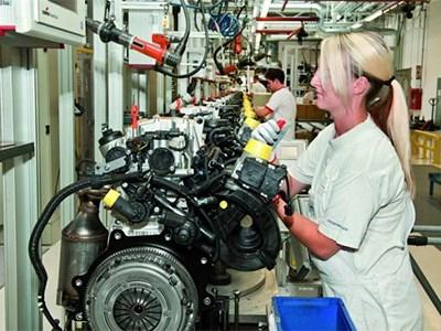 Volkswagen начнет производство своих двигателей в России