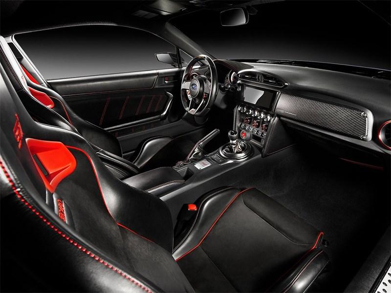 Subaru BRZ STI Concept 2015 салон