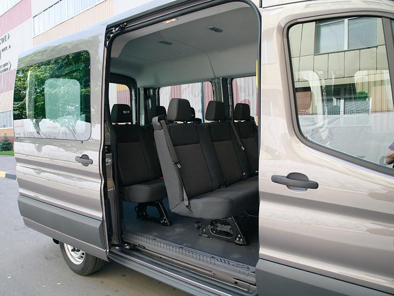 Ford Transit 2015 боковая дверь