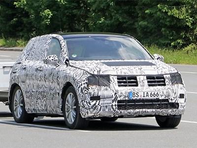 Новое поколение Volkswagen Tiguan может появиться этой осенью