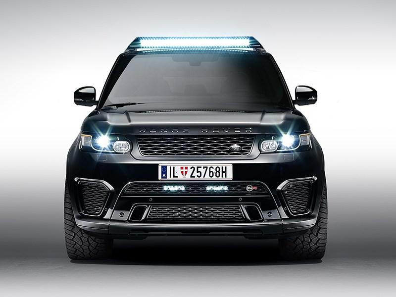 Land Rover Range Rover Sport SVR 2015 вид спереди