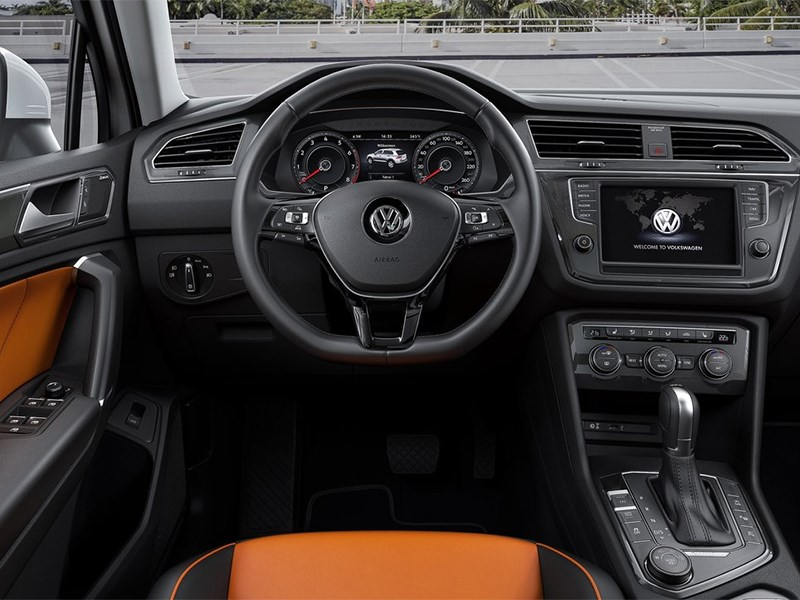 Volkswagen Tiguan 2017 водительское место